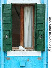 Retro open window