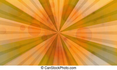 Retro Orange Vintage Background