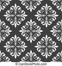 Retro ornamental seamless pattern