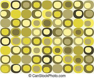 retro, padrão, seamless, quadrado