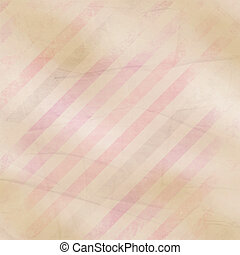 Retro paper background with  pink, purple, brown stripes