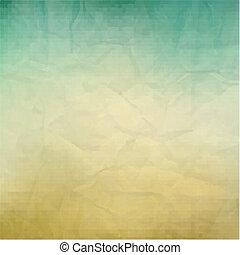 Retro Paper Texture, With Gradient Mesh, Vector Illustration...