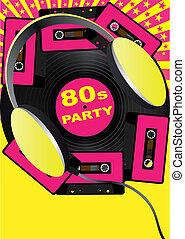 Retro Party Background