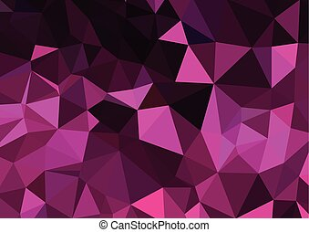 Retro pattern of geometric shapes. Colorful mosaic banner