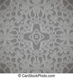 Retro pattern. Vector ornamental background.