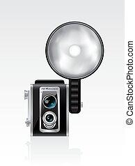 Retro photocamera