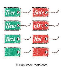 Retro price sags - sale, 50%, hot
