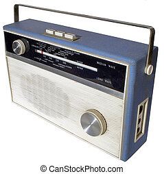 Retro radio - Well-loved set from the 1960s
