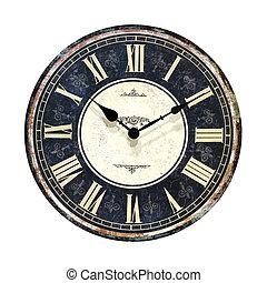 retro, relógio