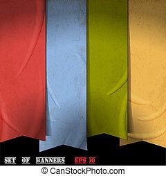 Retro ribbons