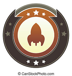 Retro rocket imperial crest
