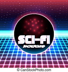 retro sci fi background - 80s Retro Sci-Fi Background VHS. ...