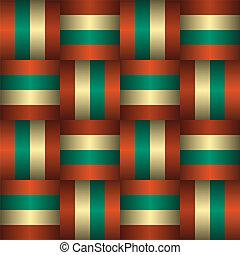 retro, seamless, 패턴