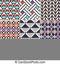 retro seamless background print