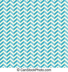 Retro Seamless Blue - White Background