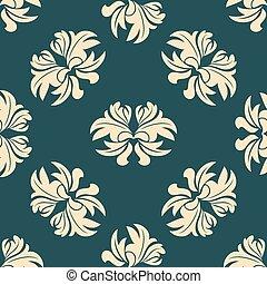 Retro seamless floral pattern