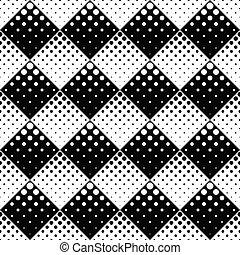 Retro seamless geometrical abstract dot pattern background design