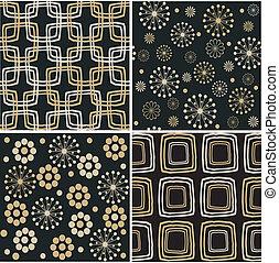 retro seamless pattern