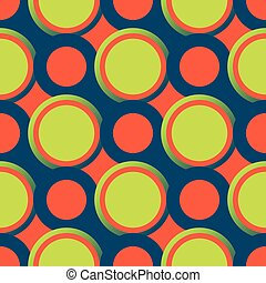 Retro seamless pattern with circles10