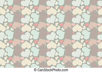 Retro seamless pattern with colorf