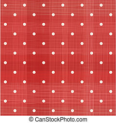 retro seamless polka dot pattern