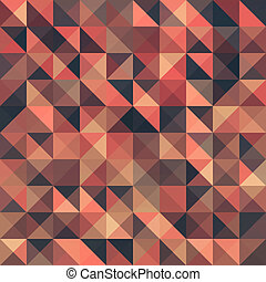 Retro seamless triangle abstract pattern.