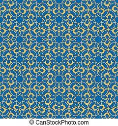 retro seamless wallpaper background round spiral curve cross vine kaleidoscope