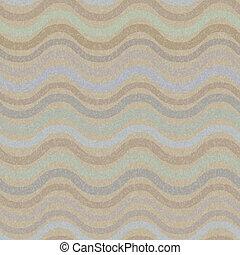 Retro seamless wave pattern - Vector retro seamless wave...