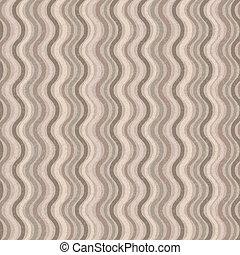 Retro seamless wave pattern