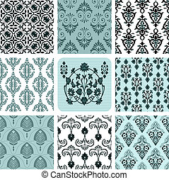 Retro set backgrounds - Retro set backgrounds