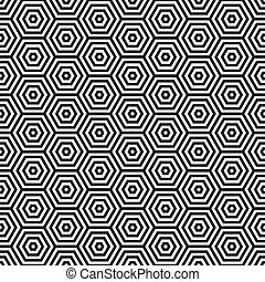 Retro seventies pattern