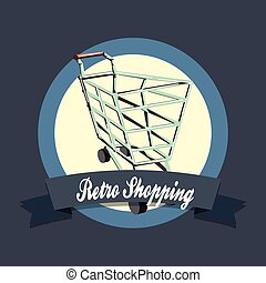 retro shopping style