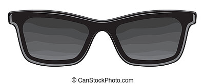 retro, sonnenbrille