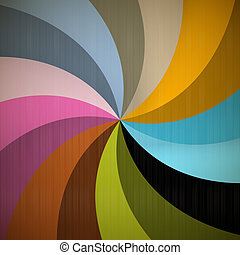 Retro Spiral Background