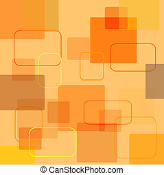 Retro squares - Retro style background