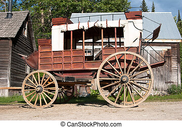 Retro stagecoach