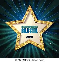 Hollywood Star Template Walk Of Fame Star Granite Star On