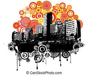 retro, stedelijke , grunge