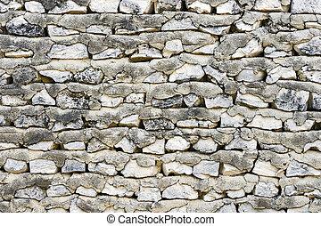 Retro stony wall