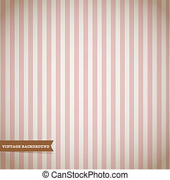 Retro Stripe Pattern Vector Background