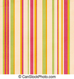 Retro stripe pattern with green, pink, yellow colors