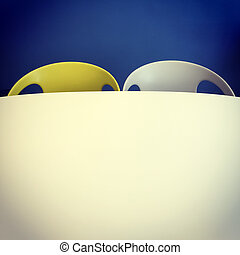 Retro style chairs and table