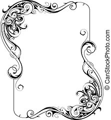 Retro style frame