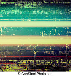 Retro style grunge background, mottled vintage texture. With different color patterns: yellow (beige); green; blue; purple (violet); cyan; pink
