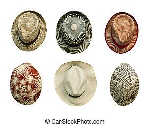 Retro-style hats