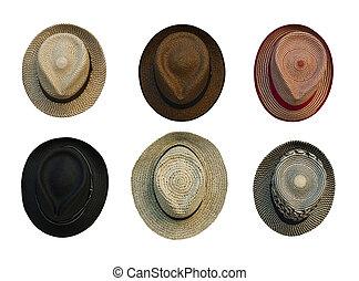 retro-style, kapelusze