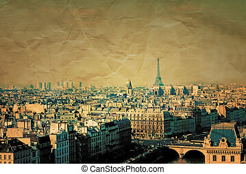 retro style paris france