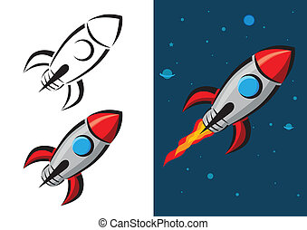 Rocket Vector Illustration