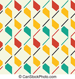 Retro style seamless pattern
