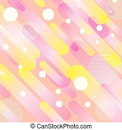 Retro styled pattern background - Abstract background with a...